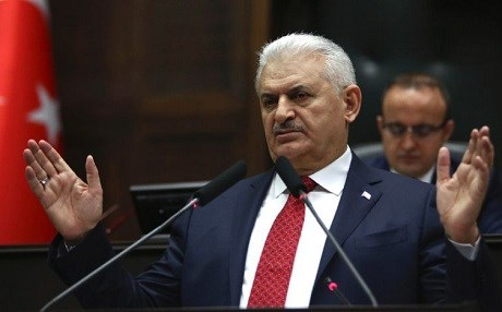 Turkish Prime Minister Binali Yildirim. File photo: Adem Altan/AFP
