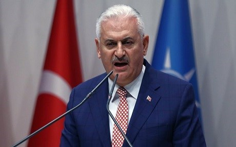 Turkish Prime Minister Binali Yildirim. AP file photo.