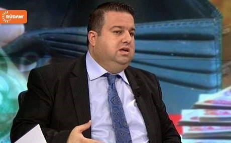 Rebaz Hamlan, Kurdistan's Finances Ministremhas said that he will end his relations with Gorran from SEptember 18, 2017. File photo: Rudaw