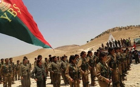 YBS forces in Shingal. File photo: Rudaw
