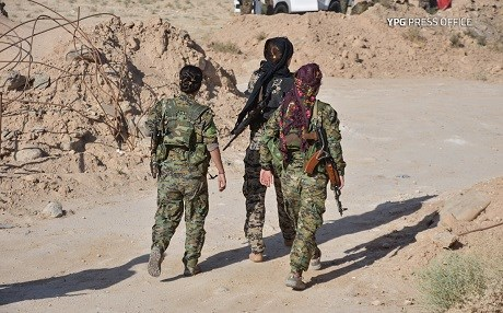 SDF forces in Deir ez-Zor. Photo: YPG Press Office