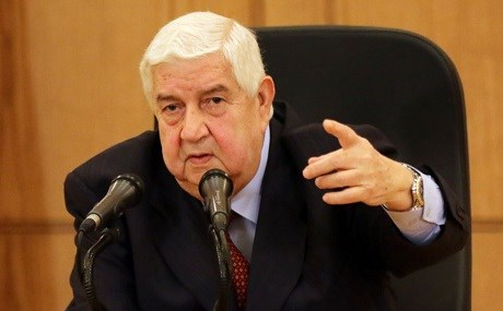Syrian Foreign Minister Walid al-Moualem. File photo: AFP