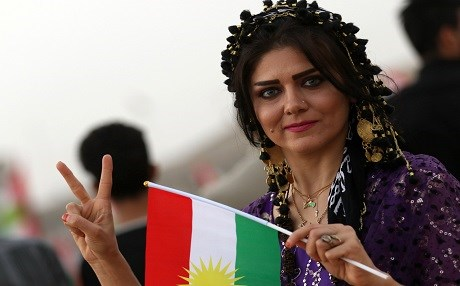 People of Kurdistan headed to the polls on Monday, September 25, despite the opposition of the regional and international countries. Photo: AFP/Safin Hamed