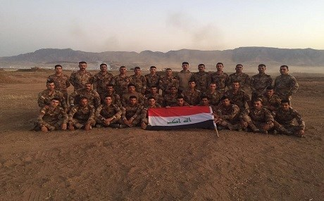 "Iraq's Joint Command published a batch of photos of Iraqi soldiers stationed in Turkey, saying that they are ""fully ready."" Photo: Iraq Joint Command"