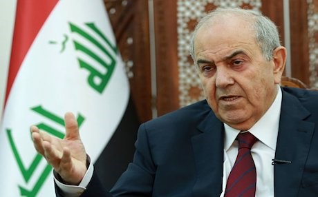 Iraqi Vice President Ayad Allawi. AP photo