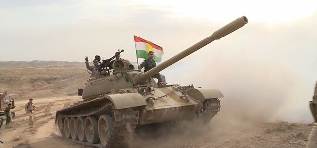 Rudaw file photo of Peshmerga forces in Kirkuk.