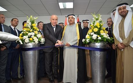 Governor of Erbil Nawzad Hadi and Abdul Rahman Saif Al Ghurair, Chairman of Dubai Chamber inaugurate the Erbil office of Dubadi Chamber, January 2014. Photo: Business Wire