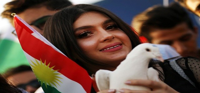 The Kurdistan Region held a referendum on September 25 when 92.7 percent of ballots cast indicated a 'Yes' vote on independence from Iraq. File photo: AFP