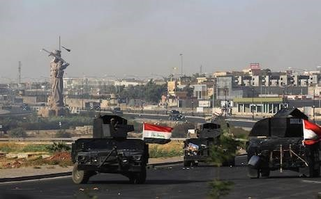 Iraqi forces took control of the city of Kirkuk on October 16 after Kurdish Peshmerga forces pulled out following soaring tensions over an independence referendum held by the Kurdistan Region on September 25 which included the oil rich city. Photo: AFP/Getty Images