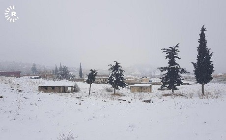 Snow covers the Kurdish town of Amedi during the winter of 2017. Photo: Nechirvan Hussein | Rudaw