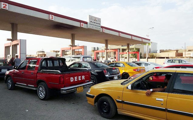 The majority of cars imported into the Kurdistan Region are sold on to Iraqis. Photo: AFP