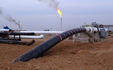 An oil project is completed in the Kurdistan Region. File photo: Rudaw