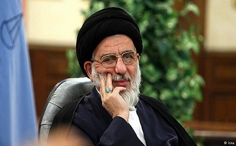 Mahmoud Hashemi Shahroudi, head of the Iranian Judiciary between 1999 and 2009, is accused of helping to issue verdicts for mass executions in the country.   File photo: Isna news agency