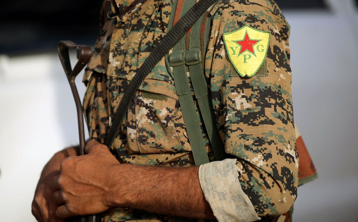 A YPG fighter in northern Syria. File photo: Delil Souleiman/AFP