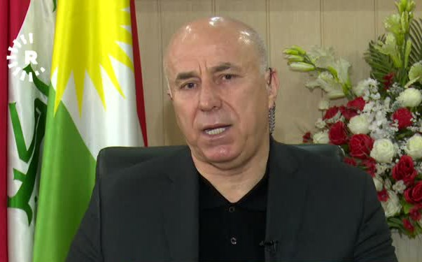 Erbil Governor Nawzad Hadi. Photo: Rudaw TV