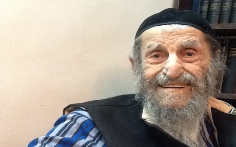 In addition to being the world's oldest Jew, Rabbi Zechariah Barashi, 114, is also the world's oldest Kurd. Photo by Lazar Berman