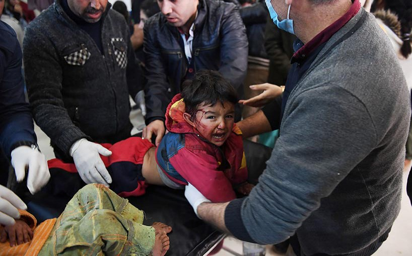 Nearly 200 civilians have been killed in Afrin since Turkey launched its offensive on January 20. Photo: AFP
