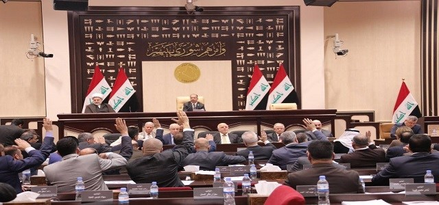 Iraqi parliament in session. Photo: PM media office / file