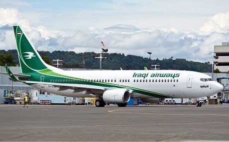 Iraq has imposed a ban on international flights to and from the Kurdistan Region since late September after the Kurdish referendum on independence held on September 25, 2017. File photo: Iraqi airways