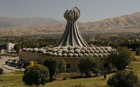A monument in Halabja pays tribute to the victims of the chemical attack. This year marks the 30th anniversary of the attack. File photo: Rudaw