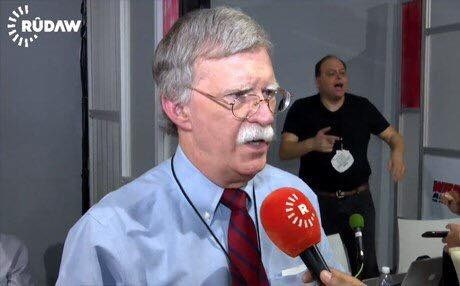 Rudaw interviews US Ambassador John Bolton in 2016.