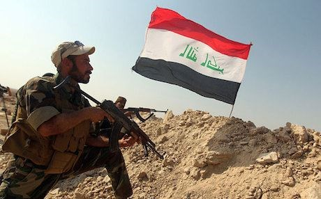 An Iraqi Army soldier. File photo: AFP