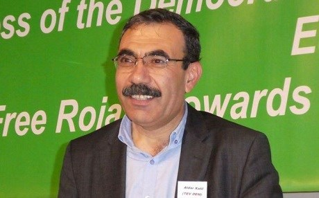 Aldar Khalil, co-president of the ruling coalition in Rojava (TEV-DEM). Photo: PYD