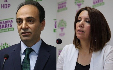 HDP MPs Osman Baydemir and Selma Irmak were stripped of their parliamentary membership on Thursday. Photo: HDP