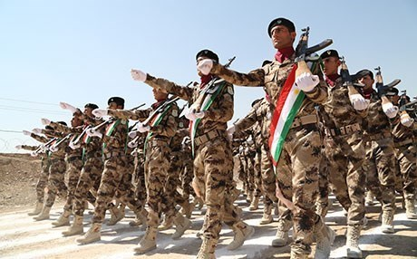 The US is providing financial assistance for the Peshmerga. File photo: Rudaw