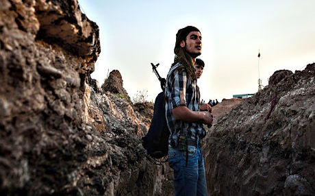 A YPG fighter in Syria. Photo: AFP