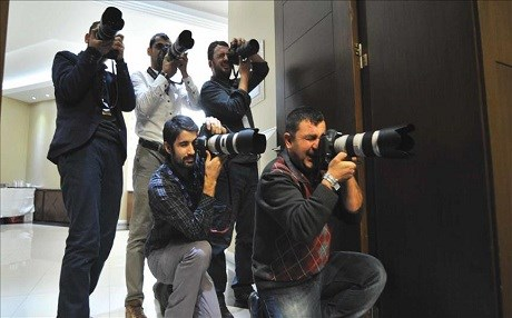In this undated pictures, photographers snap some shots in Turkey. File photo: AA