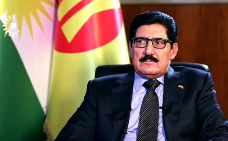 Fazil Mirani, head of KDP political bureau. Photo: Rudaw