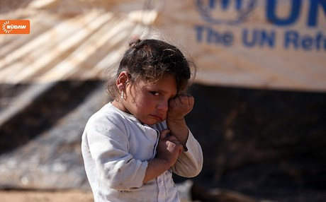 An IDP child at Hassan Sham camp. Photo by Farzin Hassan / Rudaw
