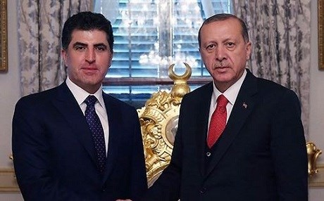 KRG PM Nechirvan Barzani attended Turkish President Recep Tayyip Erdogan's inauguration in Ankara this week. File photo: KRG