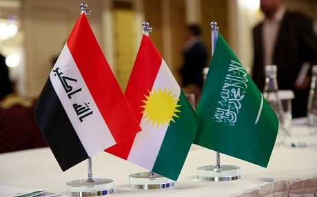 A delegation of Saudi officials and businessmen is visiting Erbil. Photo: Mohammed Shwani/Rudaw