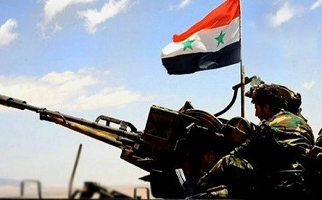 The Syrian Army is setting its sights on the country's northern provinces. Photo: SANA