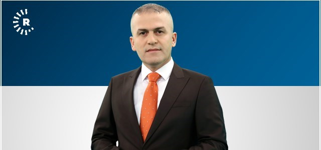 Rudaw anchor Omar Kalo has been detained by Syrian government officials. Photo: Rudaw