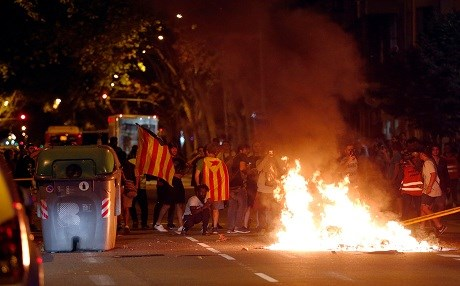 Catalans display devotion to independence on anniversary