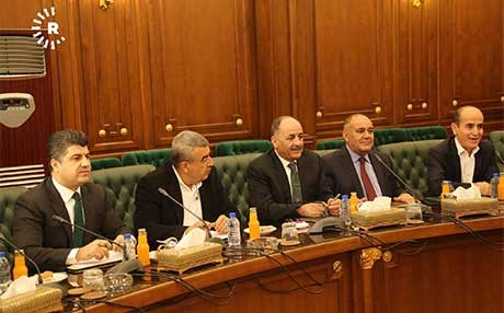 A PUK delegation met with the KDP on Saturday to begin discussions about forming the next government. Photo: Rudaw