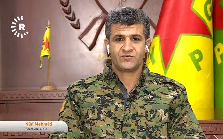 Spokesperson of the People's Protection Units (YPG) Nuri Mahmud. Photo: Rudaw