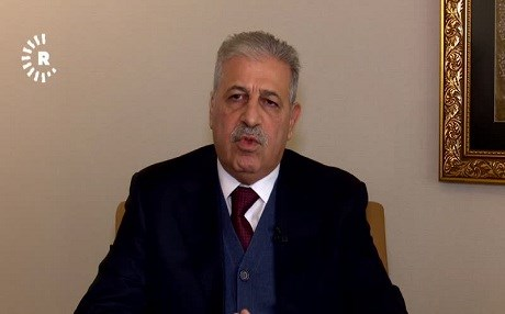 Atheel al-Nujaifi was born in 1958 and was the governor of Nineveh province from 2009-2015. Photo: Rudaw TV