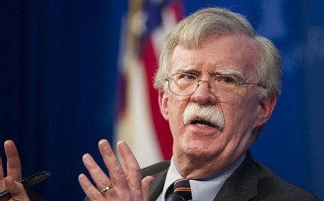 US National Security Advisor John Bolton. File photo: Cliff Owen / AP