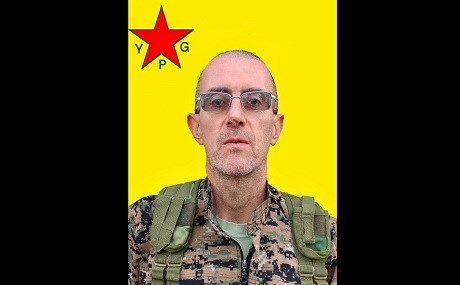 Giovanni Francesco Asperti, known by the nom de guerre Hiwa Bosco, was killed in an accident in Derik, northeast Syria on December 7, 2018. Photo: YPG / social media