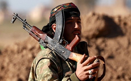 Syrian Democratic Forces (SDF) fighter in Hajin, Deir ez-Zor province, eastern Syria, December 15, 2018. File photo: AFP