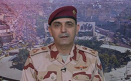 Brig. Gen. Yahya Rasoul is spokesperson for Iraqi Joint Operations Command. He speaks with Rudaw during this interview released on February 6, 2019. Photo: Rudaw TV