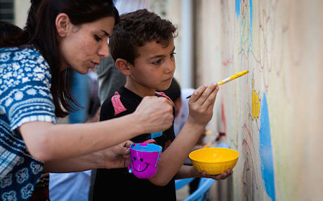 Art Brings Color and Therapy to the Lives of Refugee ...