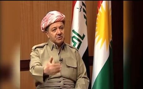 Barzani: 'We have international support for independence, and those who do not support us do not oppose us.' Photo: VOA