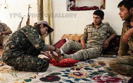 In December, the YPG issued a general order that threatened commanders with legal action if they continued with the practice of using child soldiers. Photo: YPG Photo Gallery