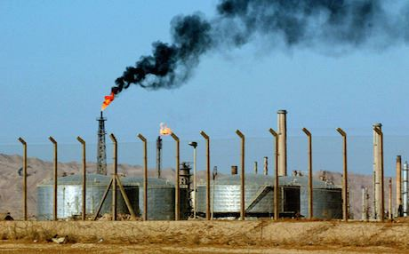 The KRG defended its move of taking over the oil facilities, saying that it had been built and paid for by the Kurdish government. Photo: AP