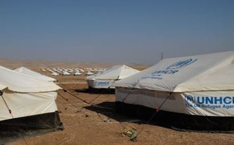 UNHCR tents set up for Syrian refugees at the Arbat c&. Photo UNHCR & UN Announces u0027Aid Pushu0027 Weeks into Kurdistan Refugee Crisis